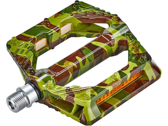 Red Cycling Products Light Platform Pédales, camo